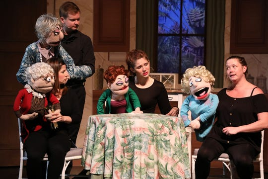 "A scene from ""That Golden Girls Show: A Puppet Parody"""