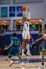 Florida SouthWestern State College sophomore Berrick Jean who transferred from New Mexico State, is second on the men's basketball team in minutes played and points scored per game this season. The Canterbury School alumnus will look to transfer back to the Division I level next season.