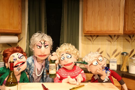 "The sassy puppets fro, ""That Golden Girls Show: A Puppet Parody"""