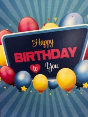 Happy Birthday cards are being sent from the Henderson County PVA Office to residents eligible to receive the Homestead Exemption.