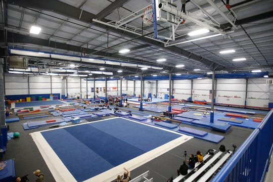 A USA Gymnastics  training camp is being held at The Gymnastics Company, 5646 Mutual Lane, on Indianapolis' Southside.