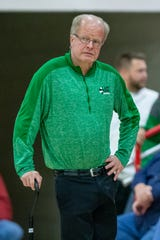 Mike Duke has been an assistant girls basketball coach at Triton Central for a decade.