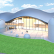 Rendering of Grand Universe, which will be a world-class public observatory in Westfield operated by the LINK observatory.