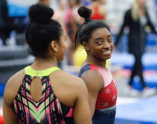 Simone Biles and her USA Gymnastics teammates will prepare in Indianapolis for the Tokyo Olympics.