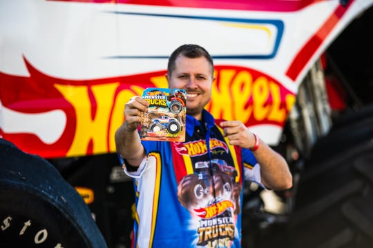 Hot Wheels Racing 1 driver, Christian Norman said he is ecstatic to be back in Mississippi for the weekend live show. Norman began working in the monster truck driving industry at 19.