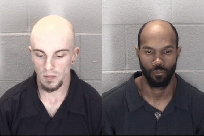 Thomas Eugene Loveless and Matthew Emile Mace are suspected of killing 57-year-old Charles Sandefur.