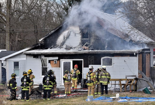 Investigators are trying to discover what started the fire at a house on the 8000 block of Lancaster-Thornville Road in Walnut Township Tuesday afternoon. Multiple fire departments arrived to extinguish the fire.