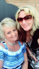 Catt Pryde (left) is grateful her best friend, Tricia Wiggle-Bazzy, (right) has organized a fundraiser to help her with medical debt. Pryde has been battling cancer for 12 years.