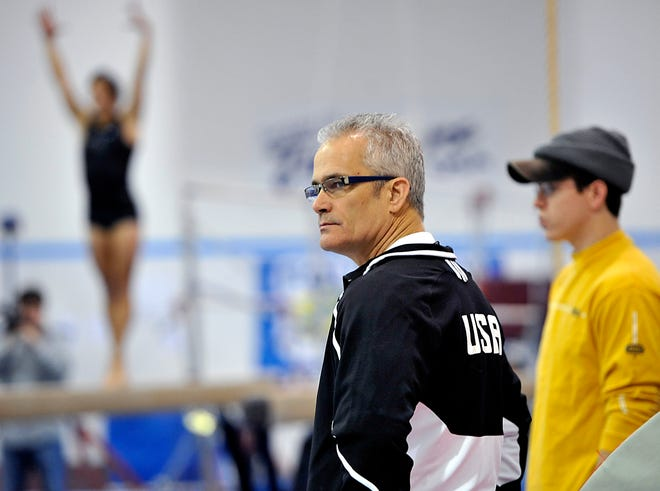 John Geddert formerly owned and coached at Twistars gymnastics club in Dimondale, Michigan, where hundreds of women say convicted sex offender Larry Nassar sexually abused them.