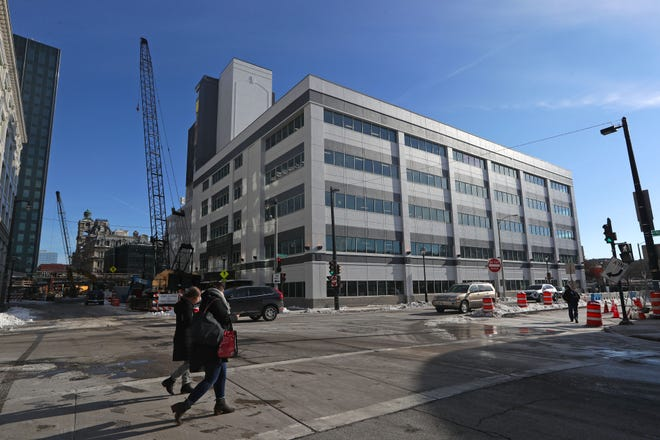 Rexnord Corp. will soon begin moving employees into its new corporate headquarters at 105-111 W. Michigan St. in downtown Milwaukee.