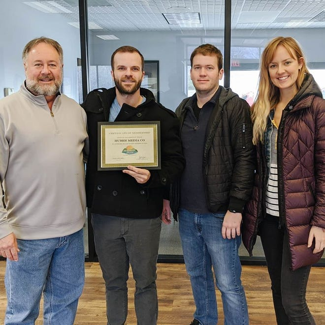 The Mountain Home Area Chamber of Commerce inducted Huber Media Co. as a member Monday. Membership inductions occur when a business has been in the area for some time and joins the Chamber. Huber Media Co. is a social media marketing company that specializes in content marketing, video production, and online advertising. Founded in January 2019, they are a brand new company to the Chamber and are looking forward to meeting everyone at future Chamber events. The company is responsible for creating the virtual reality video the Chamber uses to promote the area. For more information visit their Facebook page at https://www.facebook.com/HuberMediaCo or their website www.hubermedia.co