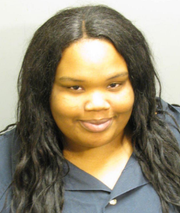Trinady Moorhead faces assault charges after allegedly stabbing a woman.