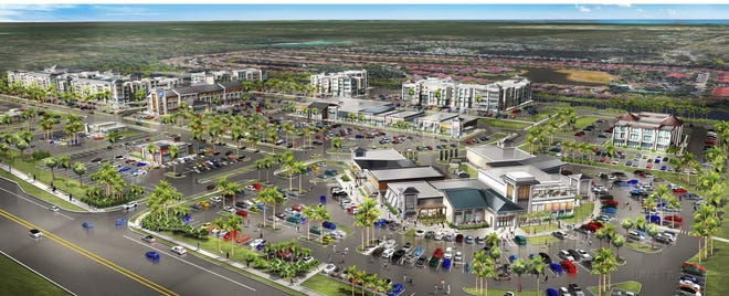Rendering of Founders Square being developed by Barron Collier Companies and Metro Development Group.