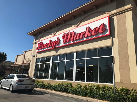 Largely empty aisles and areas at the Lucky's Market in North Naples last week, minutes before plans to close most of its locations became public.