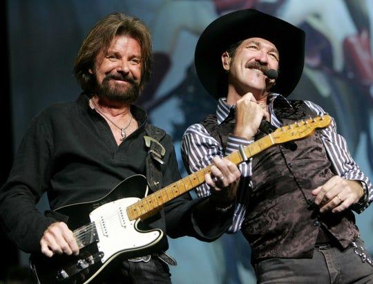 Brooks & Dunn perform in in Nashville.
