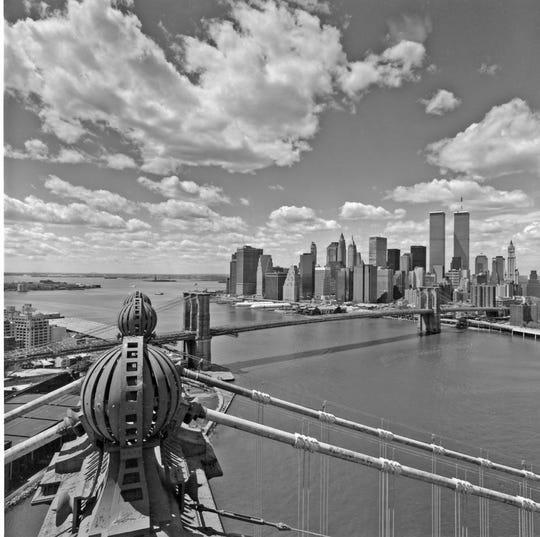 Top of Manhattan Bridge