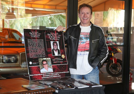 Keith McCormick has written a book about a childhood friend who became a noted drug trafficker.  McCormick is locally known from MCCormick's Car Auctions in  Palm Springs, January 21, 2020.