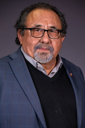 Congressman Raúl Grijalva poses for a portrait on Tuesday, Jan. 21, 2020, in Phoenix.