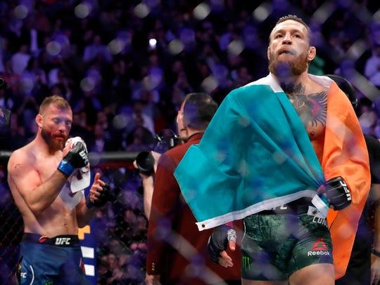 Conor McGregor regresó por la puerta grande a UFC.