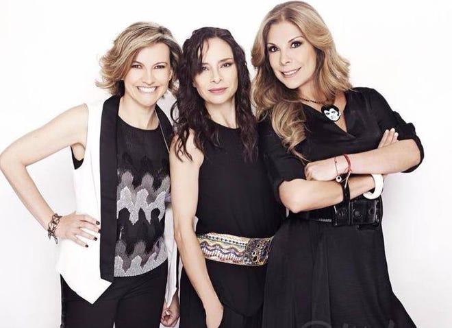 Flans, icono de la música pop de los 80, festeja 35 años de carrera como dueto, solo Ilse y Mimi continúan, pero sin problemas con Ivonne (al centro).
