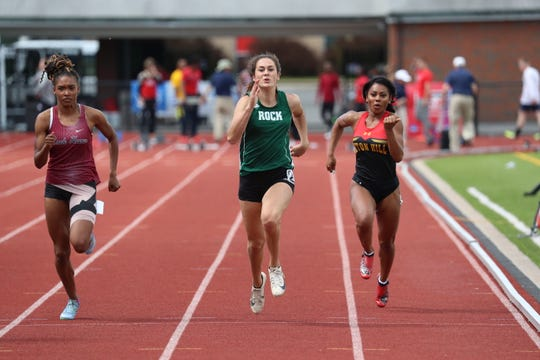 Annville-Cleona grad Reagan Hess continues to perform at a high level for the Slippery Rock track and field team.