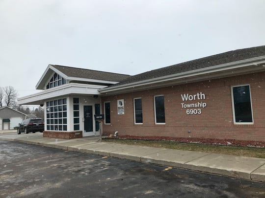 Worth Township Office at 6903 Lakeshore Road on Jan. 16, 2020.
