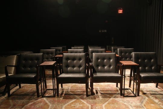 The lounge theater at Story Screen Beacon Theater on January 15, 2020.