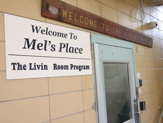 The entrance to Mental Health America's Mel's Place at the Family Partnership Center in the City of Poughkeepsie is pictured on Jan. 16.