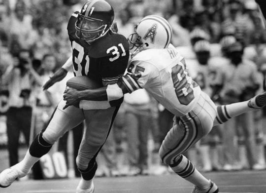 Strong safety Donnie Shell has been selected for the Pro Football Hall of Fame. He is the fifth member of the Pittsburgh Steelers' rookie class of 1974 to earn that honor.