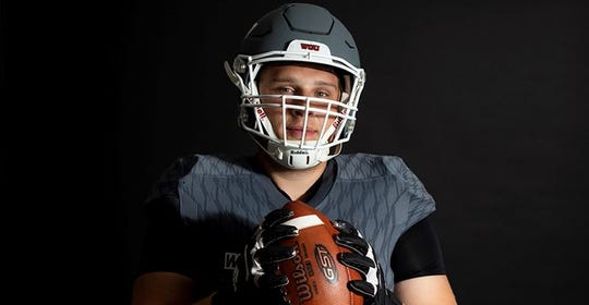 Joseph Gonzales was one of the four Western Oregon players named to the Don Hansen All-Region team.