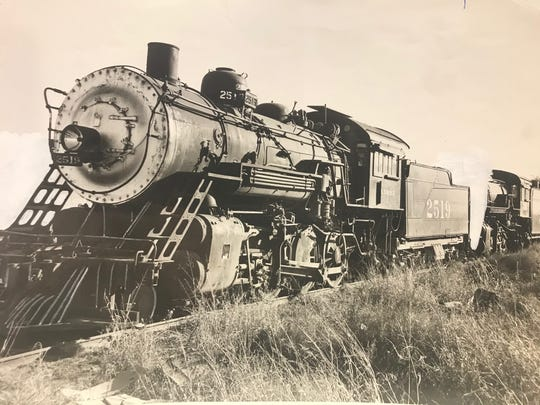 Railroad locomotives became a common sight in West Texas after the Santa Fe Railroad reached Ballinger in 1886 and San Angelo in 1888.