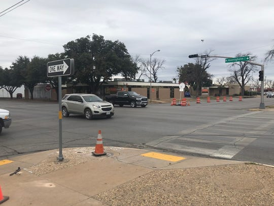 Since the traffic signal at Koenigheim and Harris Avenue was damaged Jan. 5, several accidents have occurred at the intersection, prompting San Angelo city officials to purchase a temporary traffic light until permanent repairs can be made several weeks from now.