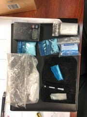 The Concho County Sheriff's Office arrested two men in Eden after they found 55 grams of suspected methamphetamine and drug paraphernalia.