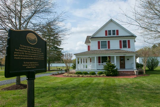 Perdue Farms will open the historic Perdue family farmhouse for tours in 2020.