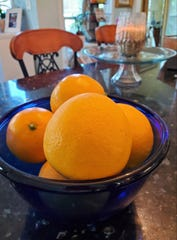 Meyer lemons are common in North Florida but are sought after around the country for their sweet, fruity flavor and large size.
