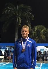 Sebastian River swimmer Mitchell Ledford