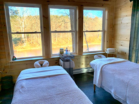 The Wellness Spa at The Tiny House Resort offers couples massage.
