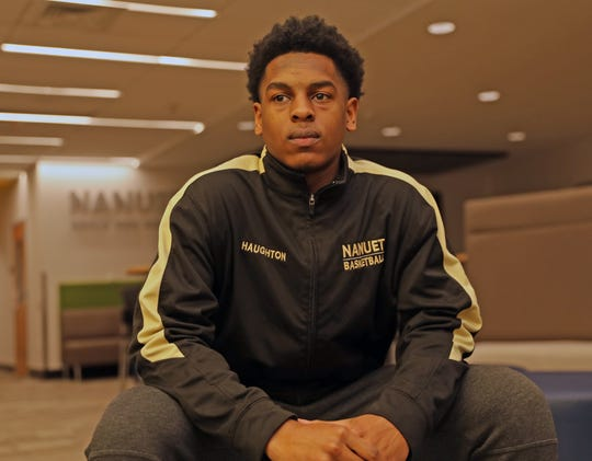 Justin Haughton, who is the Rockland Scholar-Athlete was photographed at Nanuet High School on Jan. 21, 2020.