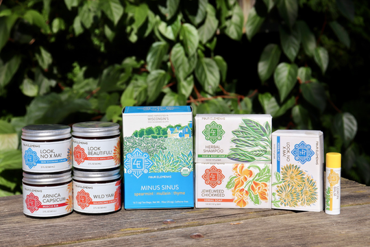 North Freedom couple grows over 200 varieties of herbs to make wellness products such as teas, creams, tinctures, lip balms, and sprays that are available in hundreds of stores.