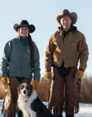Flint, an 11 year old Australian shepherd owned by Rhett and Beth Crandall of Utah is the AFBF Farm Dog of the Year winner.