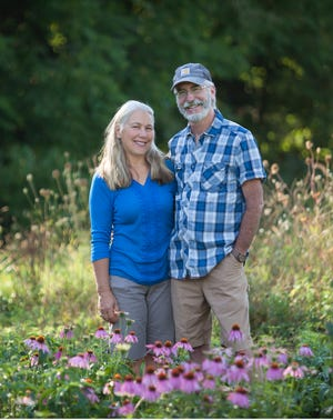 Jane Hawley Stevens and her husband, David Stevens have been named the Organic Farmers of the Year.