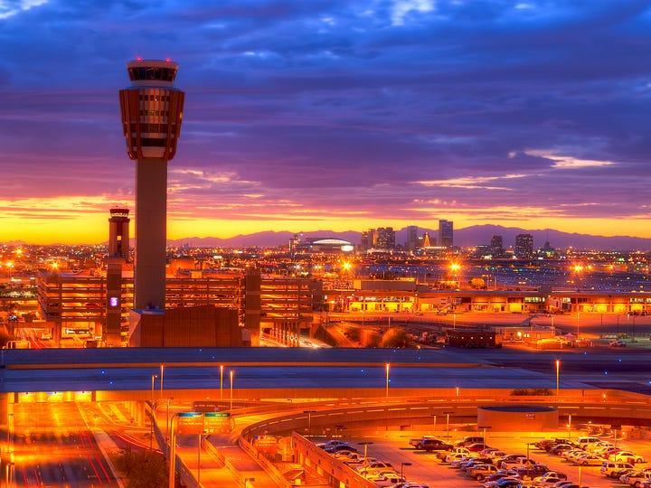 4. Phoenix Sky Harbor International Airport. Top restaurant: The Refuge Coffee & Wine