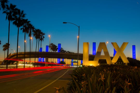 Los Angeles International Airport or LAX as it's more commonly known.