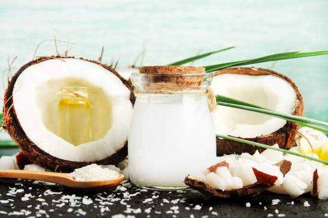 A recent analysis of 16 published studies on coconut oil associates it with increases in low-density lipoprotein (LDL) and cholesterol levels.