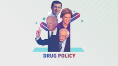 The Democratic presidential candidates share their thoughts on marijuana and the opioid crisis.