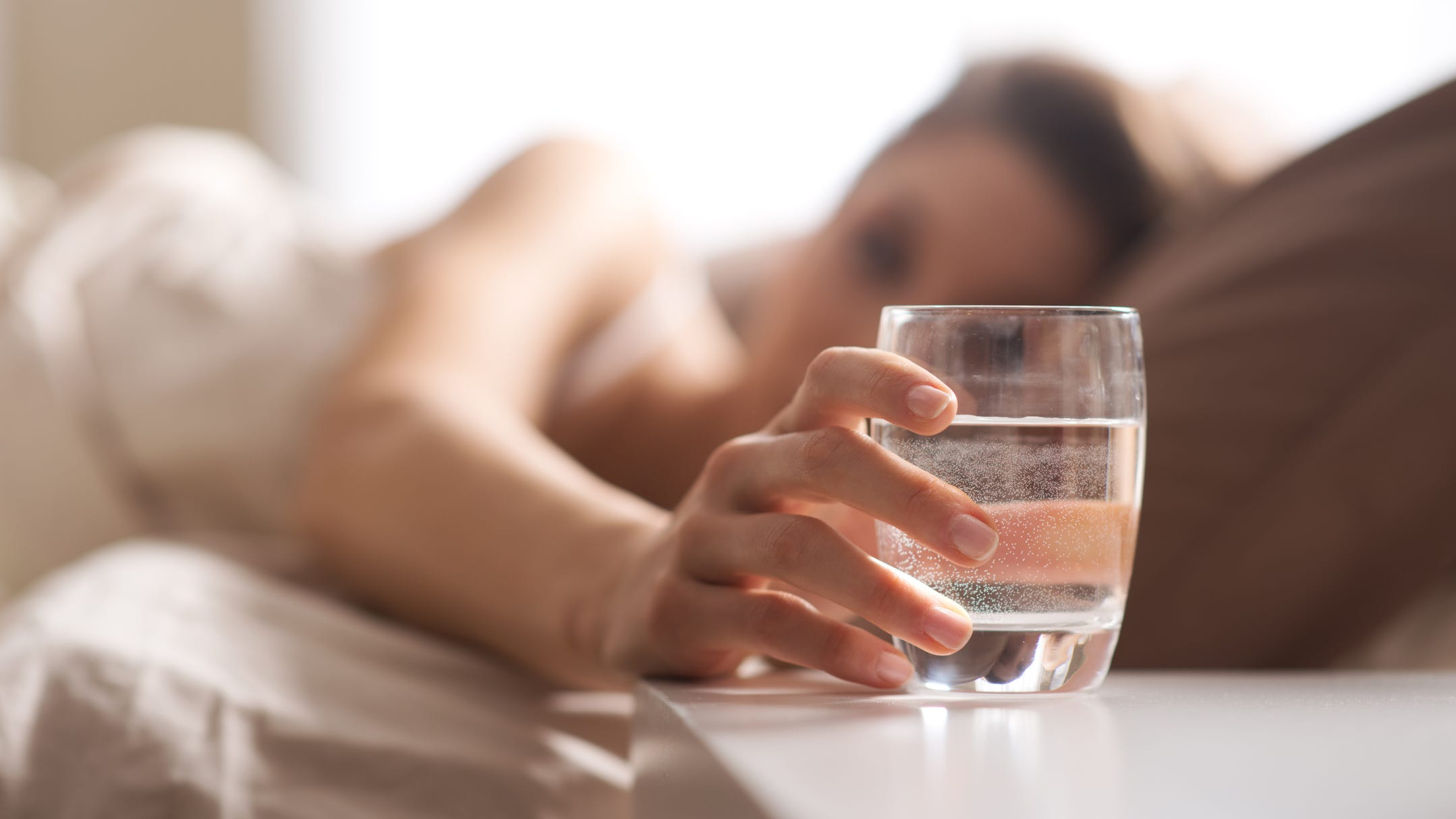 Water every morning first thing has health benefits, experts say