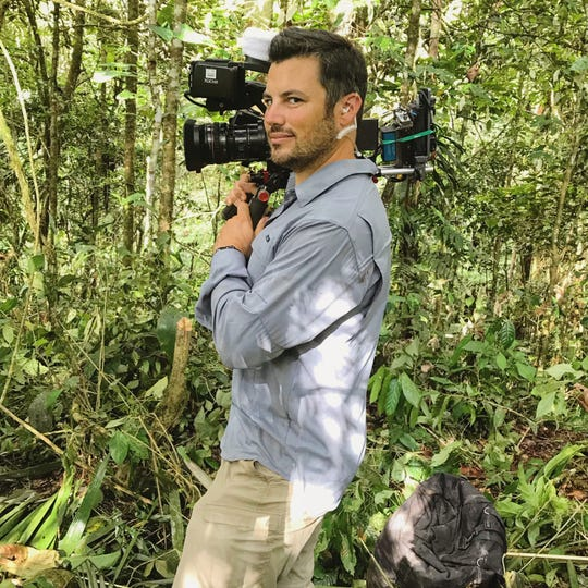 "Patrick Caligiuri, a television producer who's worked on ""The Amazing Race,"" is in the Fox Cities this week for production of a show he hopes will air on the Discovery network."