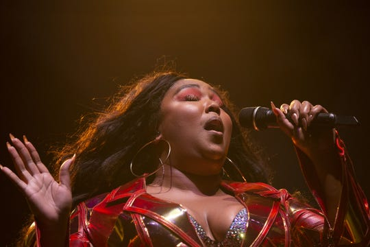 Lizzo has received eight Grammy nominations. She is shown performing at the Harley-Davidson Roadhouse on June 27, 2019.