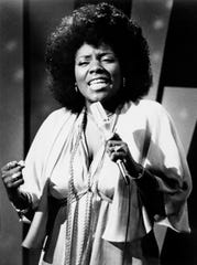"""Gloria Gaynor, seen here in 1979, won her first and only Grammy, so far, for """"I Will Survive"""" in 1980."""