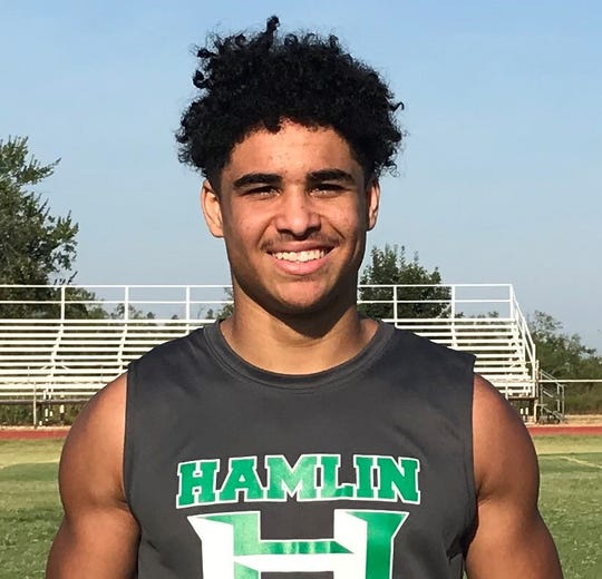 Hamlin running back Jevon Williams is the All-Big Country Class 2A offensive MVP.